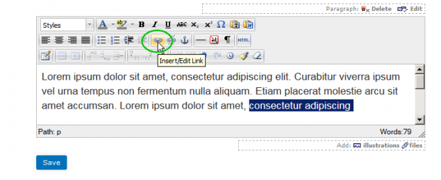 How to Add and Edit Hyperlinks